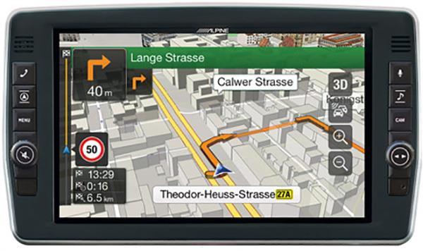 3D kart og fart informasjon