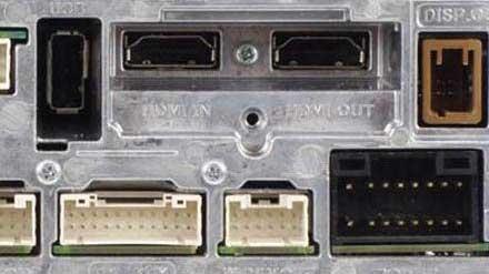 På Alpine INE-W997E46 finner du HDMI kontakter