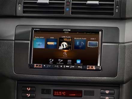 Alpine INE-W997E46 har et nytt og brukervennlig brukergrensesnitt