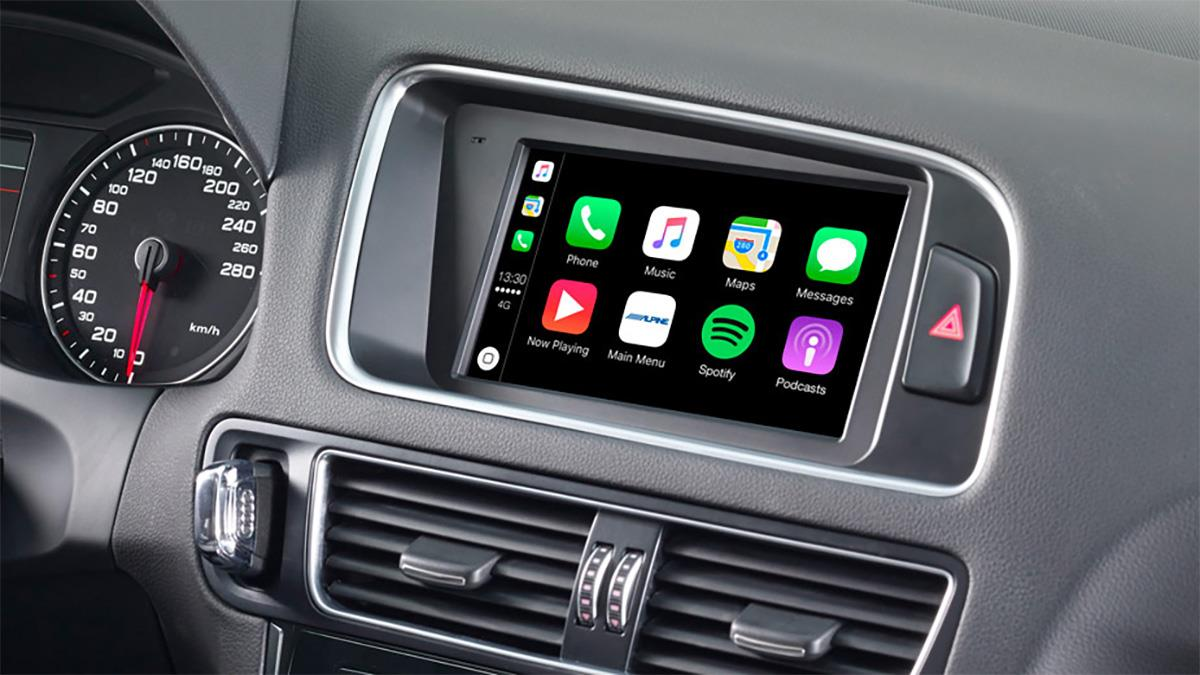 Alpine X702D-Q5 biltilpasset radio for AUDI