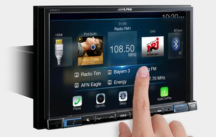 X802D-U har stor høyoppløst skjerm