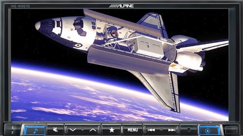 Alpine X801D-U har 7-tommer berøringsskjerm