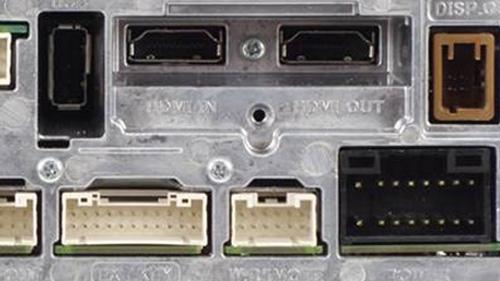 Alpine INE-W997D har HDMI inngang