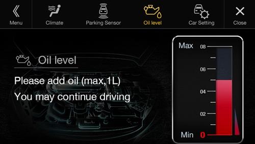 Alpine X701D er fult kompatibel med Audi elektronikk og gir deg full oversikt på meny og varsler