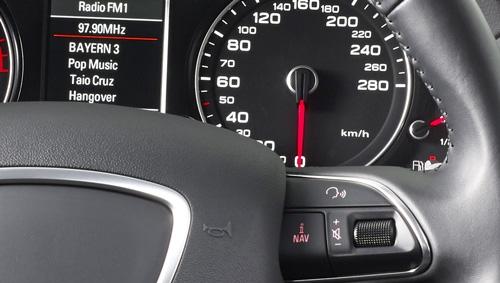 Alpine X701D integrerer perfekt i Audi
