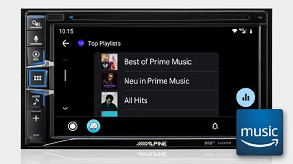 Amazon Music INE-W611DC