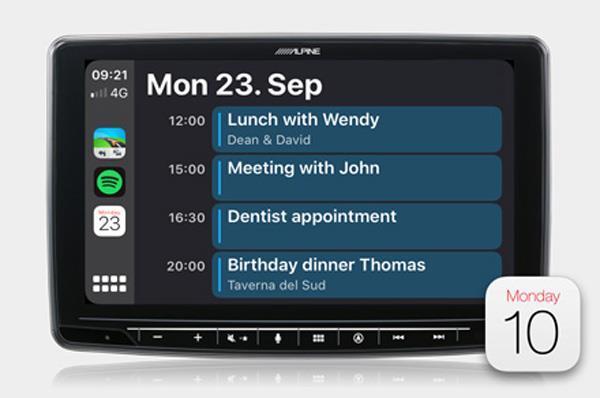 Kalender (Apple CarPlay)