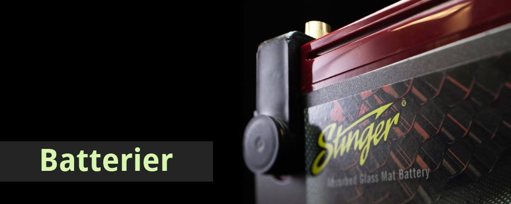 Stinger batterier