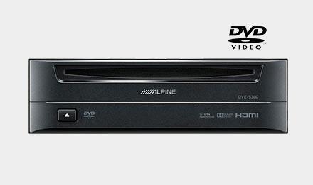 Alpine DVE-5300 DVD spiller er kompatibel med X802D-U
