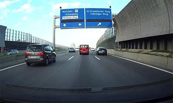 Innspilling av trafikk hendelser.
