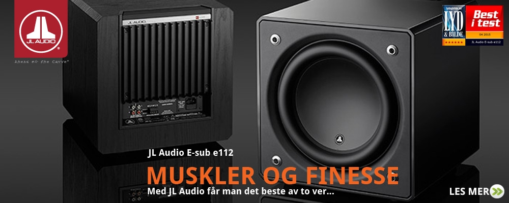 JL Audio e-sub Best i test