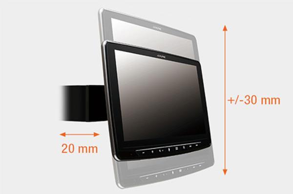 Justerbar displayvinkel INE-F904DC