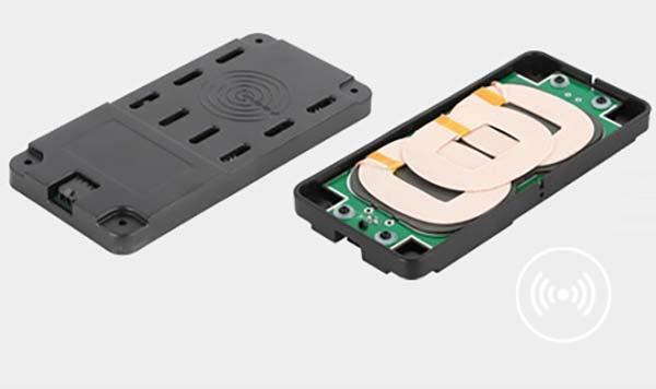KCE-3QI ladekonsoll for trådløs ladning av mobiltelefon