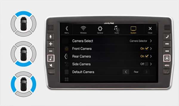 Koble til inntil 3 kamera til din X902D-S906