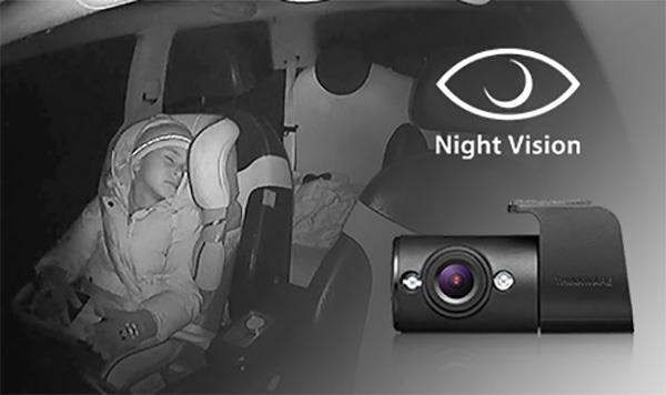 Kupe kamera med nattsyn