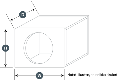 Illustrasjon lukket kasse