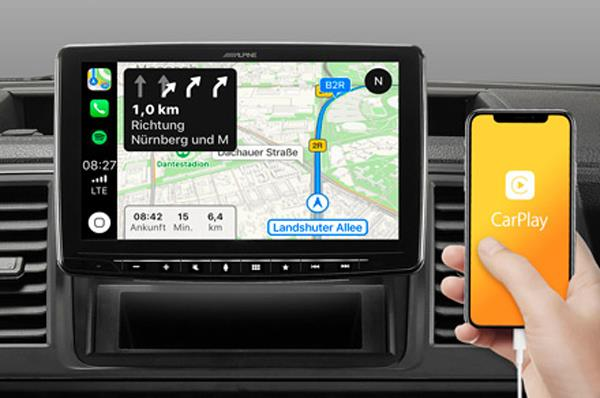 Online navigering Apple CarPlay