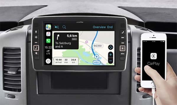 Online navigering med Apple CarPlay