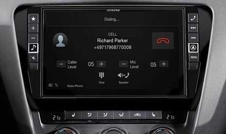 Skoda Octavia 3 blåtann skjerm X901D-OC3