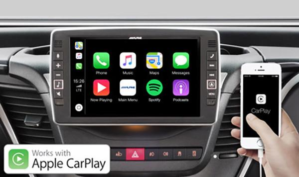 X902D-ID Fungerer med Apple CarPlay