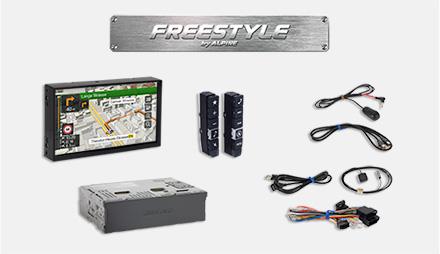 Deler inkludert i Freestyle X701D-F pakken