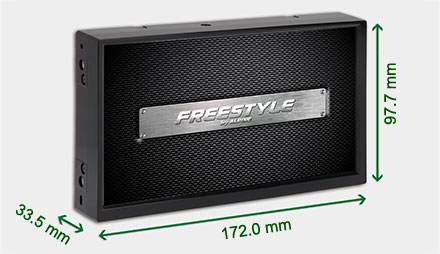 Freestyle løsning for custom installasjon Navigation Systemet X701D-F