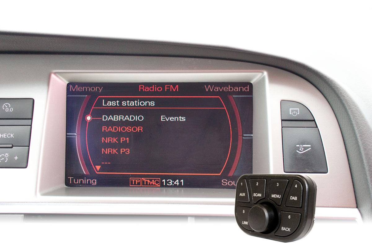 Fjernkontroll-og-displayvisningen-fra adapter