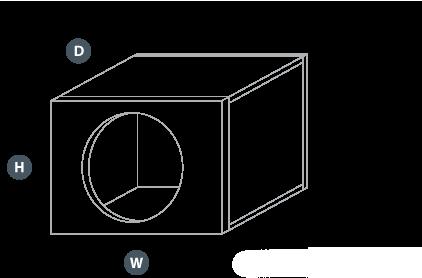 Lukket kasse illustrasjon