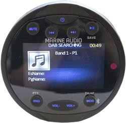 Helt nya Marine pakke m/DAB+ radio og høttalere | Bilstereo Bass forsterker YH-38