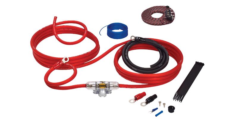 Stinger SK4641 kabelsett med signal og strømkabel